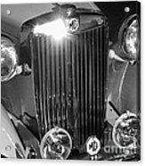Classic Mg Roadster Motor Car Acrylic Print