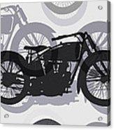 Classic Motorcycle  Acrylic Print by Daniel Hagerman