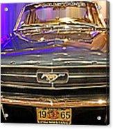 Classic Mustang Acrylic Print