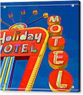 Classic Old Neon Signs Acrylic Print