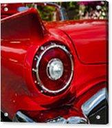1957 Ford Thunderbird Classic Car  Acrylic Print
