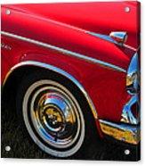 Classic Red Studebaker Acrylic Print