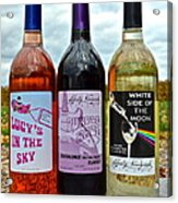 Classic Rock Classic Wine Acrylic Print