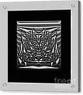Classic Shine - Silver Acrylic Print