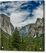 Classic Tunnel View Acrylic Print