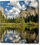 Classic Valley View Acrylic Print
