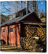 Classic Vermont Maple Sugar Shack Acrylic Print