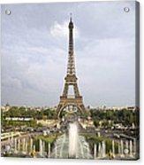 Classic View Of Paris Acrylic Print