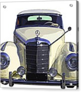 Classic White Mercedes Benz 300  Acrylic Print