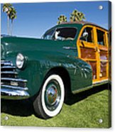 Classic Woodie Acrylic Print