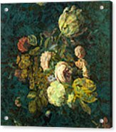 Classical Bouquet - S04bt01 Acrylic Print by Variance Collections