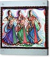 Classical Dance1 Acrylic Print