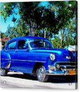 Classics Of Cuba Acrylic Print