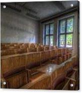 Classroom Seating Acrylic Print