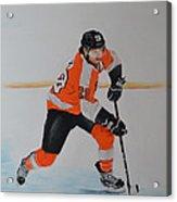 Claude Giroux Philadelphia Flyer Acrylic Print