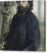 Claude Monet Self-portrait Acrylic Print