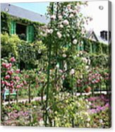 Claude Monets House - Giverney Acrylic Print
