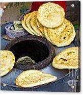 Clay Oven Bread Acrylic Print