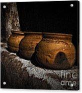 Clay Pots  ... Acrylic Print