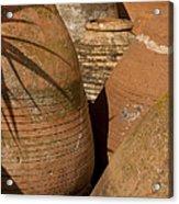Clay Pots   #7806 Acrylic Print