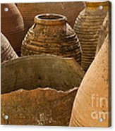 Clay Pots   #7811 Acrylic Print