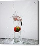 Berry Big Splash Acrylic Print