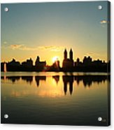 Clear And Smooth Acrylic Print