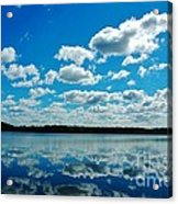 Clear Blue Waters  Acrylic Print