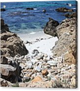 Clear California Cove Acrylic Print