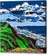 Clear Coast Acrylic Print