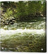 Clear Creek In Colorado Acrylic Print