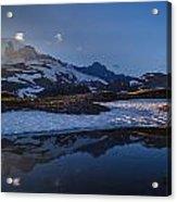 Clear Water Rainier Reflection Acrylic Print
