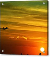 Cleared For Takeoff Acrylic Print