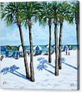Clearwater Beach Morning Acrylic Print