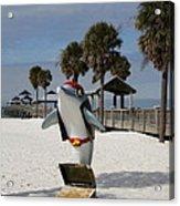 Clearwater Beach Pirate Acrylic Print