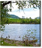 Clearwater River In Nez Perce National Historical Park-id  Acrylic Print