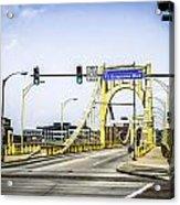 Clement Bridge Acrylic Print
