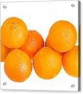 Clementine Oranges Acrylic Print