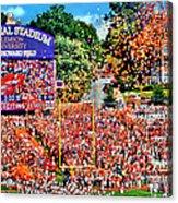 Clemson Tigers Memorial Stadium II Acrylic Print