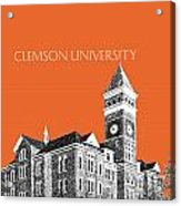 Clemson University - Coral Acrylic Print