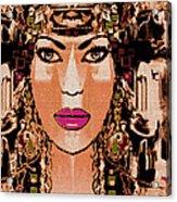 Cleopatra Acrylic Print by Natalie Holland
