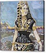 Cleopatra The Last Pharoah Of Egypt Acrylic Print