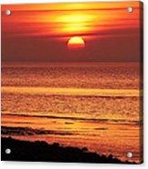 Clevedon Sunset Acrylic Print