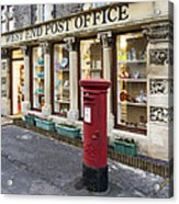 Clevedon West End Post Office Acrylic Print