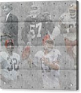 Cleveland Browns Legends Acrylic Print
