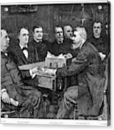 Cleveland Cabinet, 1893 Acrylic Print