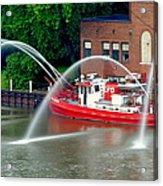 Cleveland Firehouse Acrylic Print