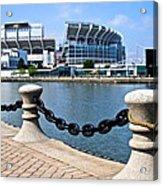 Cleveland Glory Acrylic Print