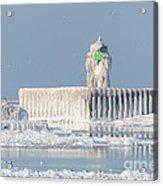 Cleveland Harbor East Pierhead Light Acrylic Print