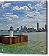 Cleveland Harbor  Acrylic Print